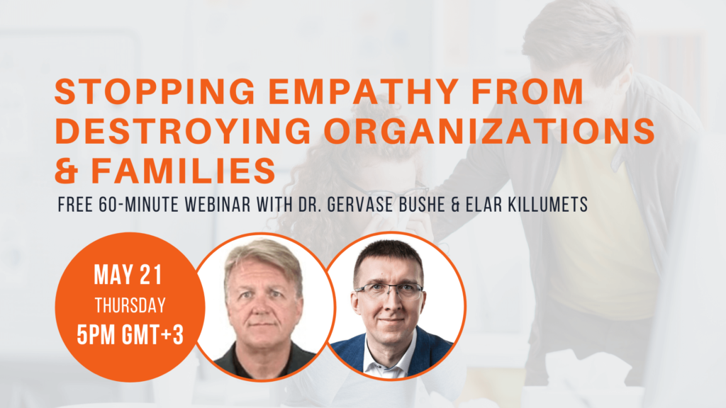 Stopping empathy from destroying organizations and families